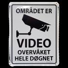 Området Er Video Overvåket A5