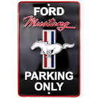 Ford Mustang Parking Black